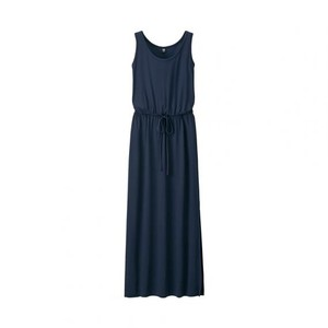 Navy Maxi Dress by Uniqlo