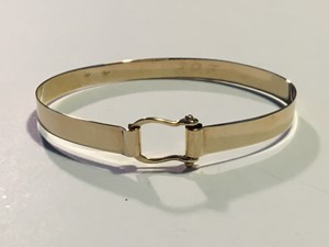 Other Vintage 14K Yellow Gold Horse-bit Bracelet