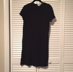 James Perse short dress Black Cotton Pullover on Tradesy