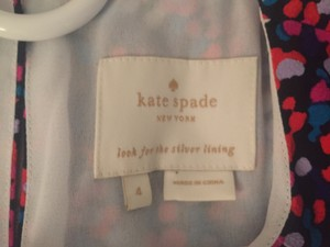 Kate Spade short dress multicolored on Tradesy