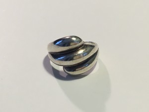 Other Vintage Sterling Silver Triple Row Ring