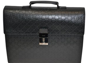 Gucci Leather Laptop Bag