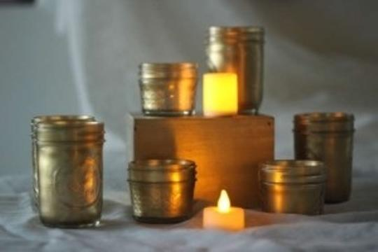 Preload https://img-static.tradesy.com/item/200433/gold-29-mason-jars-w-led-lights-centerpiece-0-0-540-540.jpg