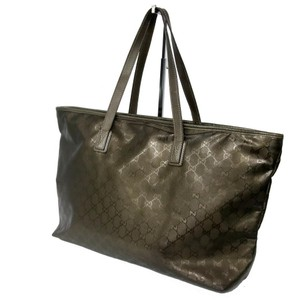 Gucci Chanel Louis Vuitton Gm Tote in Metallic