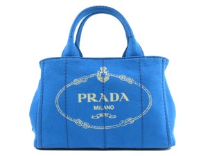 c7d2327f495a Blue Canvas Prada Bags - 70% - 90% off at Tradesy
