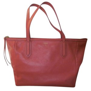 Fossil Satchel in Coral