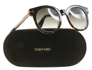 Tom Ford Tom Ford Sunglasses Women TF 435 Black 01K Janina TF435 51mm
