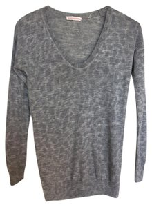 Rebecca Taylor Alpaca Wool Animal Print Sweater