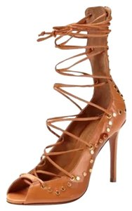 SCHUTZ Cognac leather Pumps