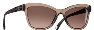 Chanel 5330 CC Cat Eye Quilting Butterfly Quilted Oversized Classic Polarized