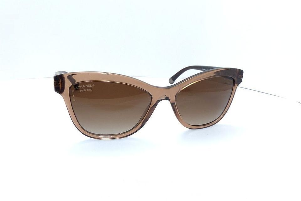 Chanel Brown 5330 Cc Cat Eye Quilting Butterfly Quilted Oversized ... : chanel quilted sunglasses - Adamdwight.com