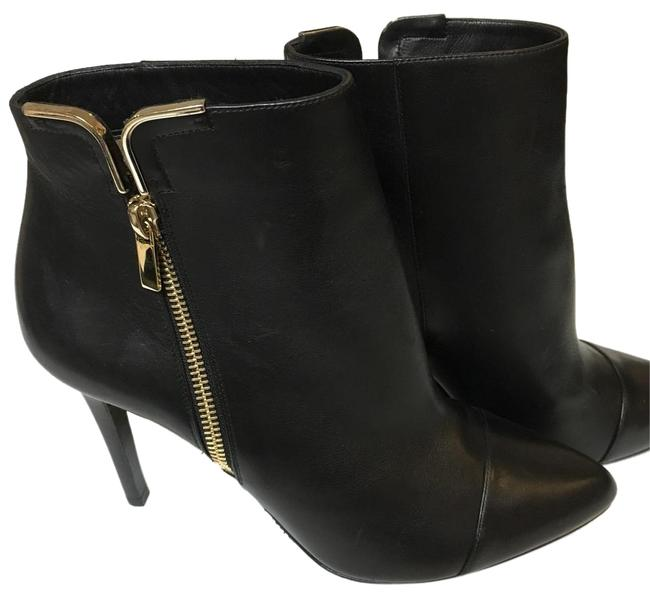 Lanvin Black Ankle Leather Boots/Booties Size US 9 Regular (M, B) Lanvin Black Ankle Leather Boots/Booties Size US 9 Regular (M, B) Image 1