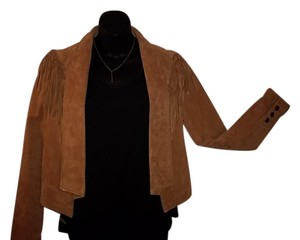 Forever 21 Brown suede Leather Jacket