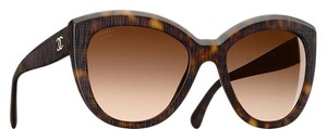Chanel 5332 CC Butterfly Signature Oversized Classic Cateye Tortoise Cat Eye