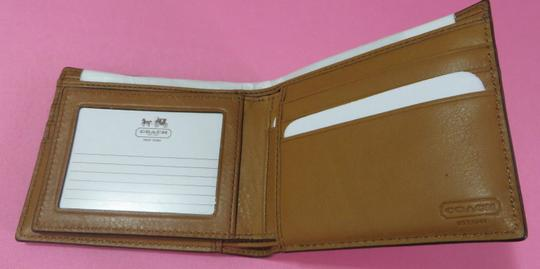 Coach Coach men's COMPACT ID WALLET with removable passcase