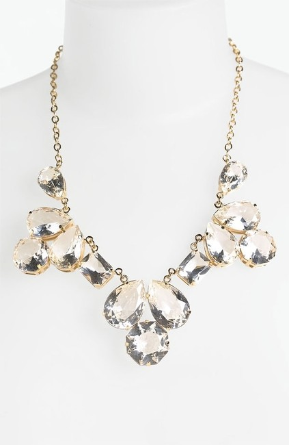 Kate Spade Crystal 12k Gold Plate Girl Shaken and Stirred Perfect Bond Look Necklace Kate Spade Crystal 12k Gold Plate Girl Shaken and Stirred Perfect Bond Look Necklace Image 1