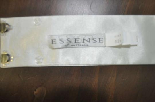 Essense of Australia Ivory Belt Sash