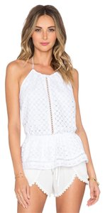 ZIMMERMANN Dvf Tory Burch Isabel Marant Top White