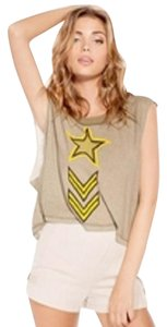 Wildfox Awesome T Shirt Vintage Army
