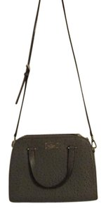 Kate Spade Leather Purse Satchel in Dark Charcoal