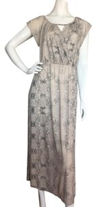 Gray Beige Maxi Dress by Rebecca Taylor