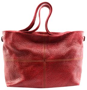 Plinio Visona Tote in Red