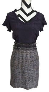 Rebecca Taylor Silk Tweed Dress