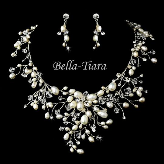 Preload https://item1.tradesy.com/images/bella-tiara-beautiful-romantic-ivory-pearl-crystal-wedding-necklace-set-2004480-0-0.jpg?width=440&height=440