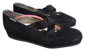 Mephisto Leather Comfortable BLACK Platforms