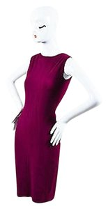 Gucci Magenta High Neckline Dress