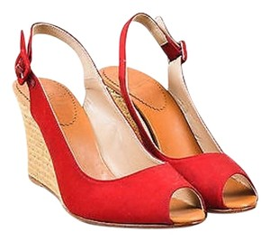 Christian Louboutin Red Platforms