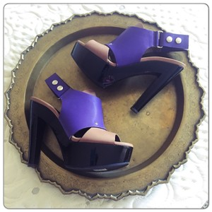 Marni Purple Platforms