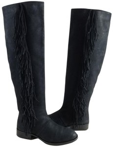 Sam Edelman Pull-on Style Black Suede Boots