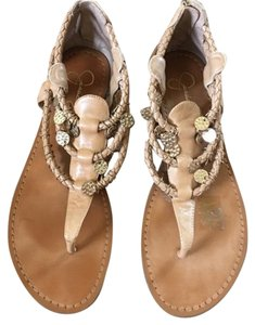 Jessica Simpson Tan leather Sandals