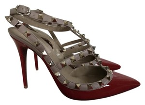 Valentino Patent Leather Red Pumps