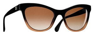 Chanel 5350 CC Cat Eye Signature Butterfly Oversized Classic Cateye Polarized