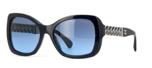Chanel 5305 Square Chain Link Quilted CC Logo Wayfarer Classic Tweed