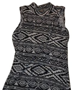 Rue 21 short dress Black/White on Tradesy