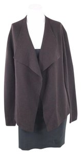 Eileen Fisher Sweater Knit Brown Cardigan