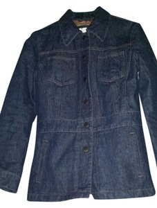 Nine West dark blue Womens Jean Jacket