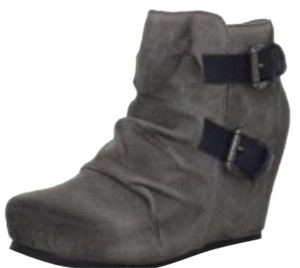 OTBT Wedge Gray Boots