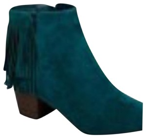 Booties Teal Boots