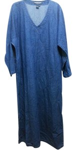 Blue Maxi Dress by The job Peterson company