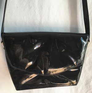 Charles Jourdan Patent Leather Patent Vintage Goyard Shoulder Bag