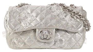 Chanel Ice Cubes Metallic Quilted Ch.k1010.03 Classic Shoulder Bag