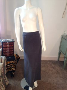 Spiegel Long Maxi Skirt Grey