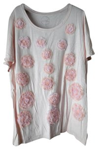INC International Concepts Plus-size Short Sleeves Round Neckline Tunic