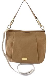 MICHAEL Michael Kors Hallie Hobo Pebble Leather Shoulder Bag