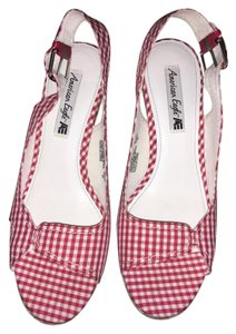 Other Red &white Wedges