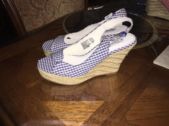 Other Blue &white Wedges